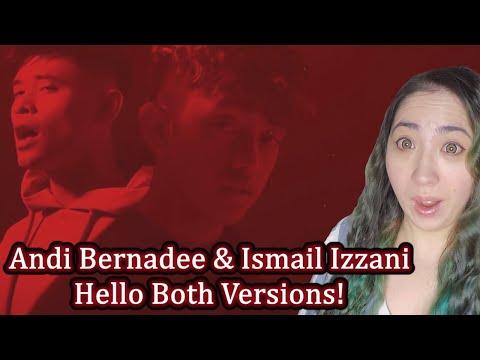 Download Andi Bernadee & Ismail Izzani  - Hello Both Versions Reaction Mp4 baru