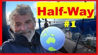 GGR Skipper Jean-Luc is 1st in Hobart, sailed half-way around the world