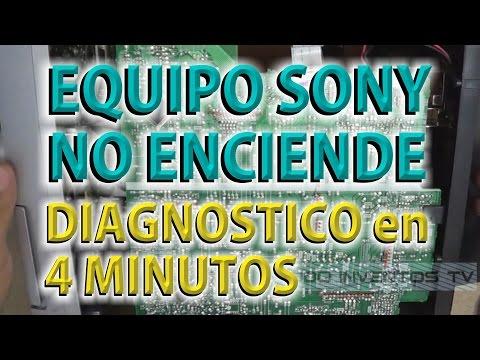 SONY RG290 NO ENCIENDE DIAGNOSTICO EN 4 MINUTOS ● @todoinventostv