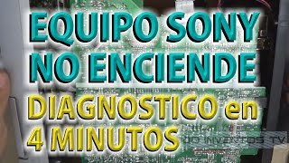 SONY RG290 NO ENCIENDE DIAGNOSTICO EN 4 MINUTOS ● @todoinventostv #17