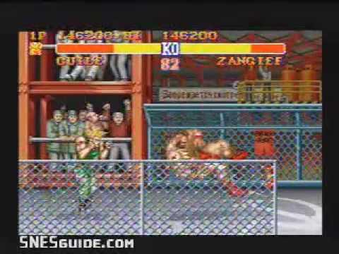Street Fighter II: The World Warrior - SNES Gameplay