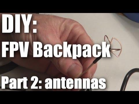 Diy: Fpv Backpack Build Part 2 (antennas) video