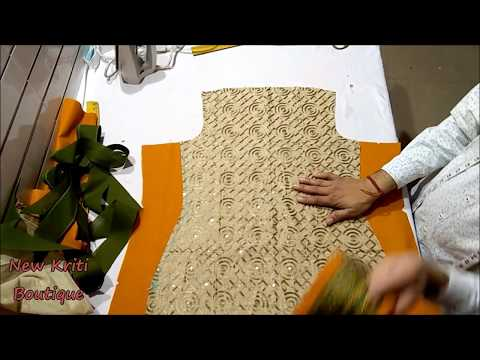 Large size XXXL kurti cutting and stitching step by step with latest design