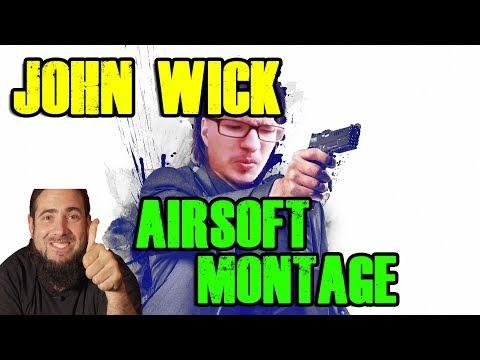 JOHN WICK Airsoft Style BURG GESTÜRMT Airsoft Montage
