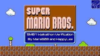 TASBot walks his way through Super Mario Bros. 1