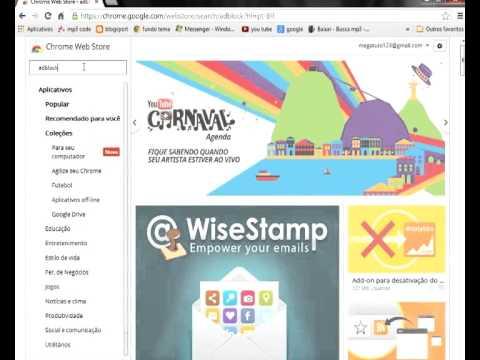 Como Bloquear os Anúncios do Google Chrome