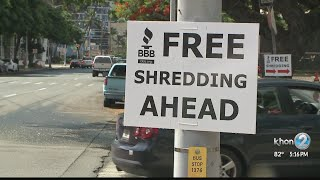 Free shredding, electronic recycling events aim to protect your identity