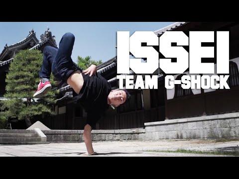 BBOY ISSEI of Team G-SHOCK in Fukuoka    YAK FILMS