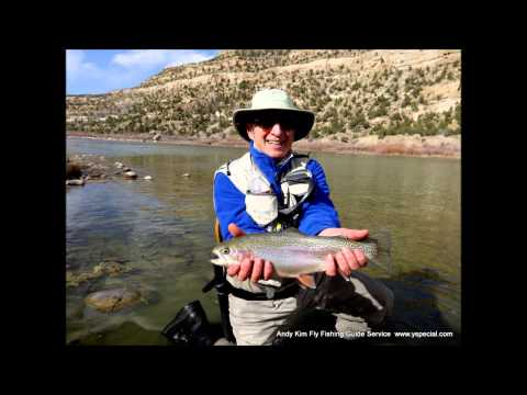 Trout heaven San Juan River wade fishing trip March 2013