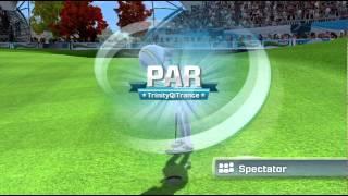 Kinect Sports Season 2 Golf 9 hole online match Xbox 360 Xbox Live 720P gameplay