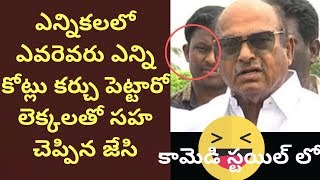 JC Diwakar Reddy Funny Facts About AP Elections | AP Elections 2019