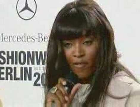 Naomi Campbell wants more Black models Video