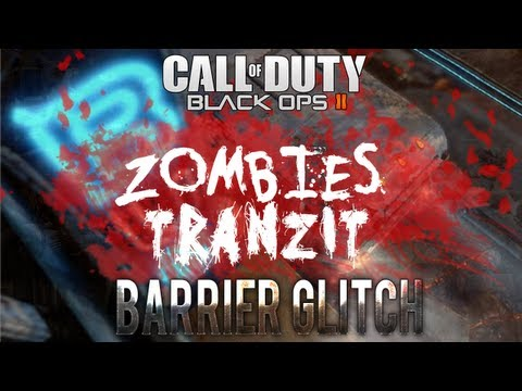 Black Ops 2 Zombie Glitches: Bus Depot Barrier Glitch 1 to 4 Players