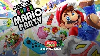 Jugamos Super Mario Party