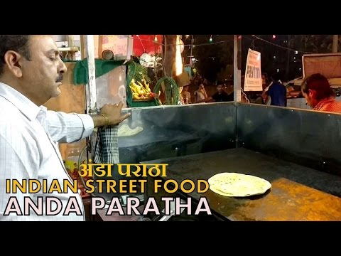 Indian Street Food - अंडा पराठा | Egg Paratha | Pune |