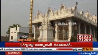 Theft At Sri Padmavathi Godha Venkateshwara Swamy Temple|Huzurnagar|Suryapet Dist
