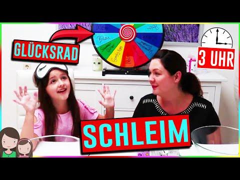 3 UHR NACHTS GLÜCKSRAD SCHLEIM CHALLENGE! 3 am Wheel Of Fortune Challenge?! Alles Ava