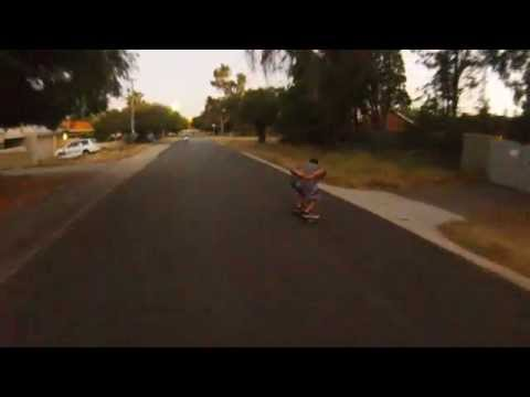 A few shots from skating in December 2013. Finding downhills in the 'burbs can prove quite difficult! Thankfully there were no stacks! Willagee, Perth, WA Mu...
