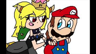 Super Mario Shorts: What if Bowsette Seduces Mario? (My version)