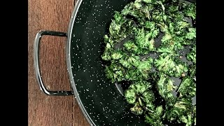 Kale Chips--without an oven!