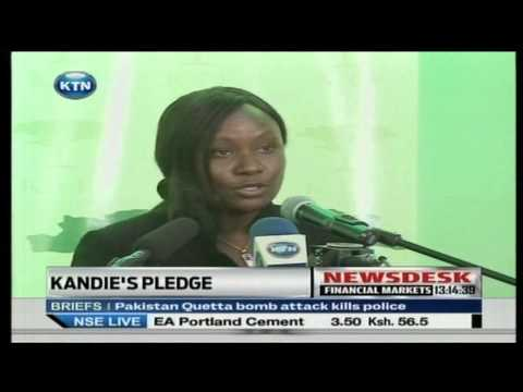 Phyllis Kandie secretary of EAC, tourism and Commerce pledge
