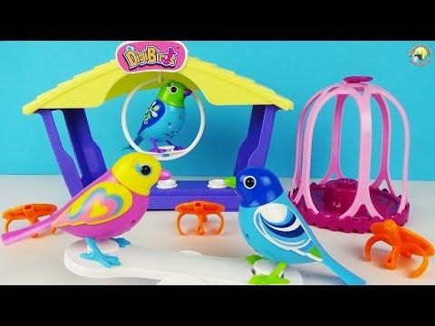 DigiBirds – поющие птички для детей, обзор интерактивной игрушки / Singing Birds Toys