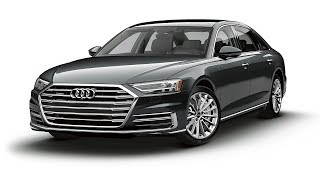 Audi A8 2019 Guided Tour in German