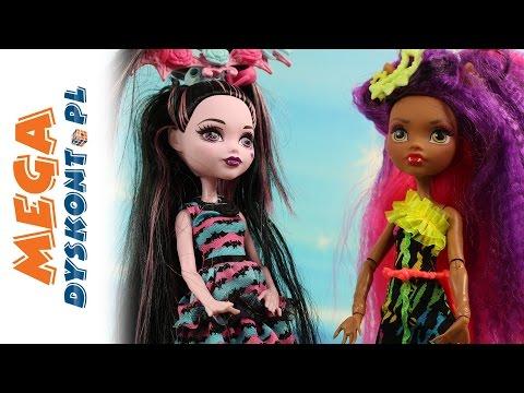 Wampistyczne fryzury Draculaury - Zelektryzowani Monster High - Bajki dla dzieci