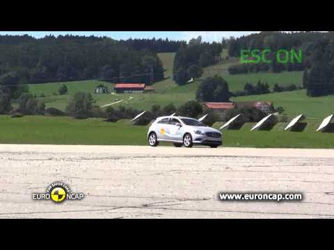 Euro NCAP | Mercedes-Benz A-Class | 2012 | Электронный контроль устойчивости