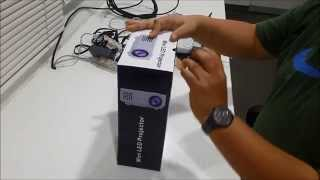 Download MINI PROYECTOR LED RD-805 - RESOLUCION 800X480, HDMI, USB, TV CABLE, RCA, 120 LUMENS, CONTROL REMOTO 3Gp Mp4