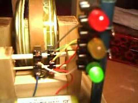 Contactos del semaforo 3