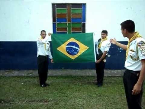 TUTORIAL * Dobrando a Bandeira Nacional