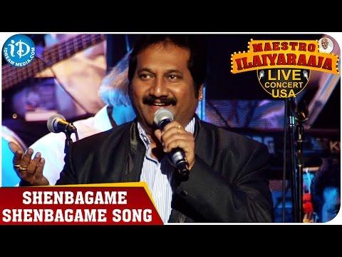 Maestro Ilaiyaraaja Live Concert - Shenbagame Shenbagame Song - Mano    San Jose, California