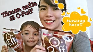 OISHI O-PUFF CHOCOLATE Flavor! Taste test: First time ko 'to Masarap va talaga? Philippines