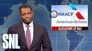 Weekend Update on American Airlines' Racial Bias - SNL