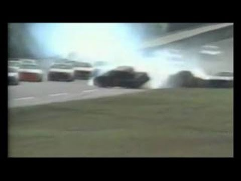 Rusty Wallace Flip at Daytona - Call by MRN