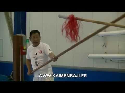 Kaimen Baji seminar 2015 : Big spear - ChaHua (sub Fr-Eng)