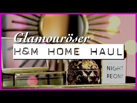 H&M HOME Haul - GLAM DEKO #WOHNPRINZ