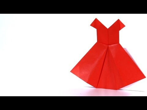 How to Make a Dress | Origami