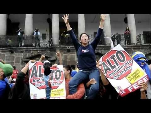 LADY MORALES PRESIDENTA DE LA FESE NACIONAL EN LA MARCHA 3M 2011