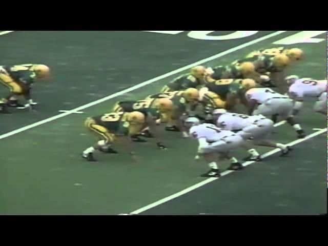 Oregon TE Jeff Thomason 19 yard catch vs. WSU 9-07-1991