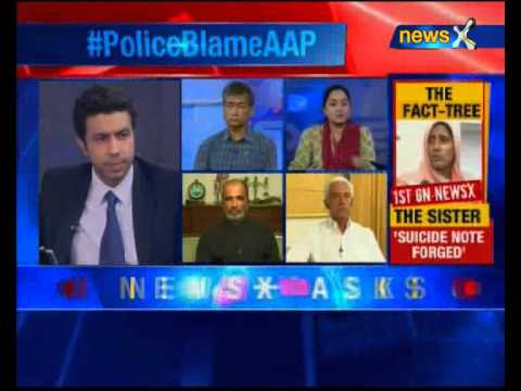 Delhi Police blames AAP for instigating Gajendra, delaying post-mortem