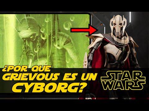 Star Wars ¿Por Que Grievous Es Un Cyborg? #1