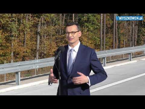 Premier M. Morawiecki - Otwarcie Trasy S8 (Wyszków - Ostrów / Warszawa - Białystok)