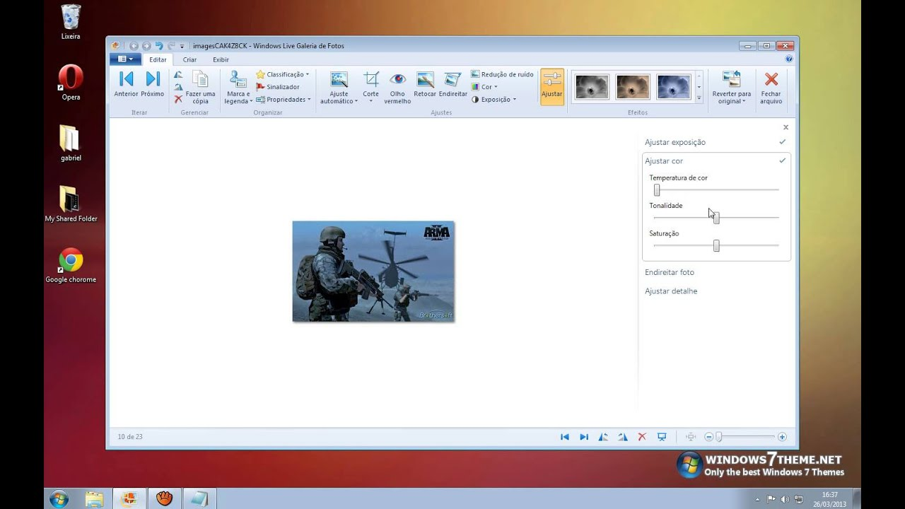 Como diminuir o tamanho de uma foto no windows 7 50