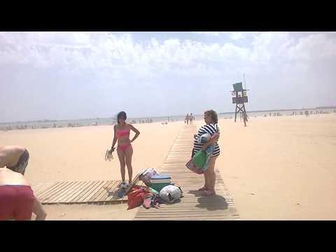 Поехали с нами на Атлантический океан ! Playa Valdelagrana.