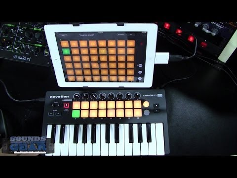 Novation Launchkey Mini mobile MIDI controller review - SoundsAndGear.com