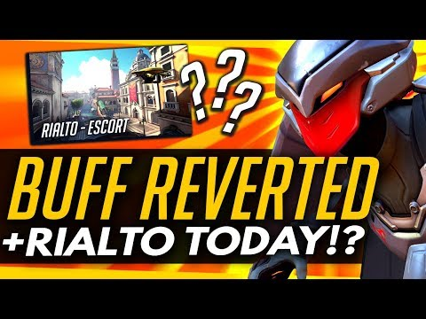 Overwatch   Hanzo Buff REVERTED + Rialto TODAY on PTR?!
