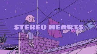Download lagu stereo hearts || lyrics || slowed + reverb
