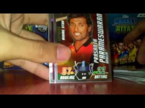 Cricket Attax Cards 2014 Cricket Attax Ipl 2014-15